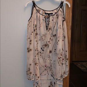 Flower formal shirt